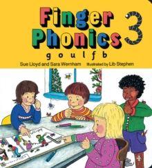 Finger Phonics book 3 : in Precursive Letters (British English edition), Board book Book