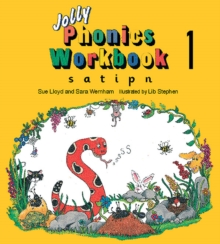 Jolly Phonics Workbook 1 : in Precursive Letters (BE), Paperback Book