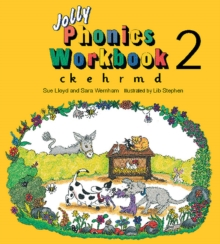 Jolly Phonics Workbook 2 : in Precursive Letters (BE), Paperback Book