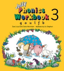 Jolly Phonics Workbook 3 : in Precursive Letters (British English edition), Paperback / softback Book