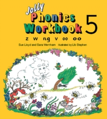 Jolly Phonics Workbook 5 : in Precursive Letters (British English edition), Paperback / softback Book