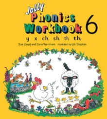 Jolly Phonics Workbook 6 : in Precursive Letters (British English edition), Paperback / softback Book