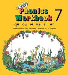 Jolly Phonics Workbook 7 : in Precursive Letters (British English edition), Paperback / softback Book