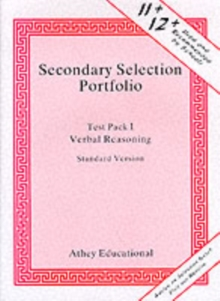 Secondary Selection Portfolio : Verbal Reasoning Practice Papers (Standard Version) Pack 1, Loose-leaf Book