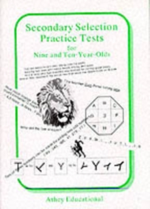Secondary Selection Practice Tests for Nine and Ten-year-olds, Loose-leaf Book