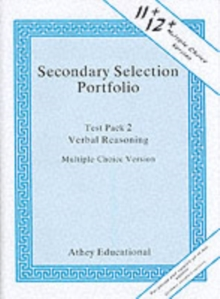 Secondary Selection Portfolio : Verbal Reasoning Practice Papers (Multiple-choice Version) Test Pack 2, Loose-leaf Book