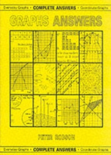 Graphs Answers : Complete Answers, Everyday Graphs/Coordinate Graphs, Paperback / softback Book