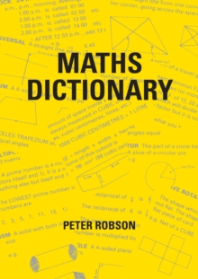 Maths Dictionary, Paperback Book