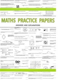 Maths Practice Papers for Senior School Entry - Answers and Explanations, Paperback Book