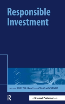 Responsible Investment, Hardback Book