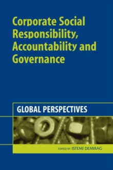 Corporate Social Responsibility, Accountability and Governance : Global Perspectives, Hardback Book
