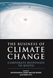 The Business of Climate Change : Corporate Responses to Kyoto, Hardback Book