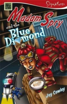 Madam Spry and the Blue Diamond, Paperback Book