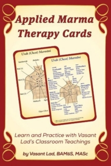 Applied Marma Therapy Cards, Paperback Book