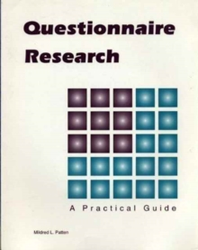 Questionnaire Research : A Practical Guide, Paperback Book