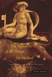 The Signature of All Things : On Method, Hardback Book