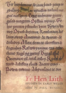 Yr Hen Iaith : Studies in Early Welsh, Paperback / softback Book
