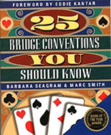 25 Bridge Conventions You Should Know, Paperback Book