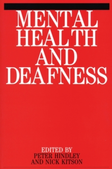 Mental Health and Deafness, Paperback / softback Book