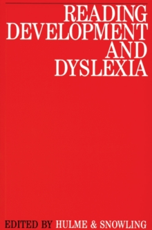 Reading Development and Dyslexia, Paperback / softback Book