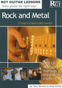Rock and Metal : 10 Easy-to-Follow Guitar Lessons, Paperback Book