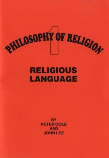 Religious Language, Paperback Book