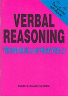Verbal Reasoning : Technique and Practice No. 3, Paperback Book