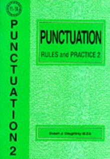 Punctuation Rules and Practice : No. 2, Paperback Book