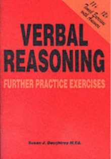 Verbal Reasoning : Further Practice Exercises, Paperback Book