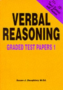 Verbal Reasoning : Graded Test Papers No. 1, Paperback Book