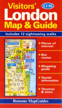 Visitors' London Map and Guide, Sheet map, folded Book