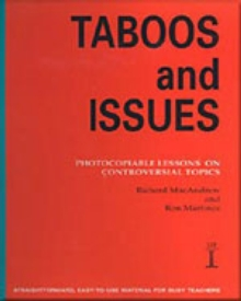 Taboos and Issues : Photocopiable Lessons on Controversial Topics, Spiral bound Book