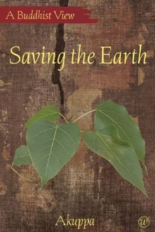 Saving the Earth, Paperback Book