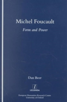 Michel Foucault : Form and Power, Paperback / softback Book