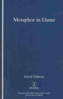 Metaphor in Dante, Paperback Book