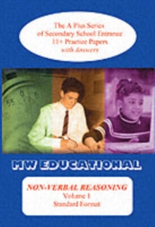 Non-verbal Reasoning : 11+ Practice Papers with Answers v. 1, Paperback Book