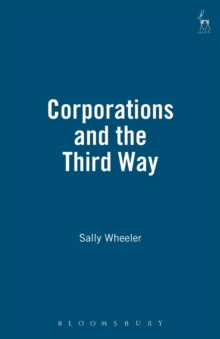 Corporations and the Third Way, Paperback / softback Book