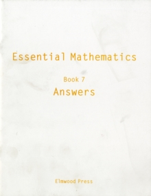 Essential Mathematics : Answers Book 7, Paperback Book