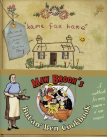 But an'Ben Cookbook Maw Broons, Hardback Book