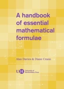 A Handbook of Essential Mathematical Formulae, Spiral bound Book