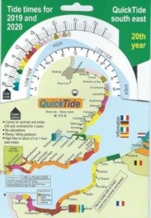QuickTide south east: tide times for 2019 and 2020 : Quick Tide 20th year, Paperback / softback Book