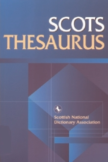 Scots Thesaurus, Paperback Book