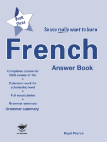 So You Really Want to Learn French Book 3 Answer Book, Paperback Book