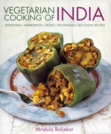 Vegetarian Cooking of India, Hardback Book