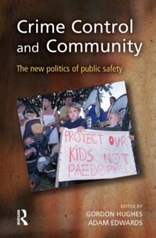 Crime Control and Community, Hardback Book