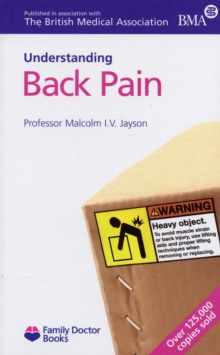 Understanding Back Pain, Paperback Book