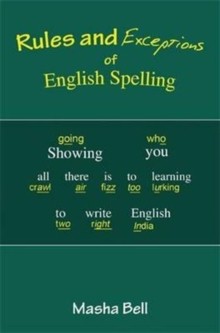Rules and Exceptions of English Spelling, Paperback Book