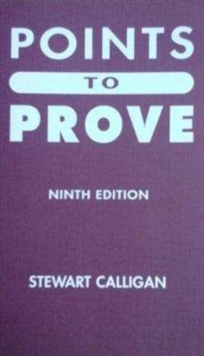 Points Points to Prove, Paperback / softback Book