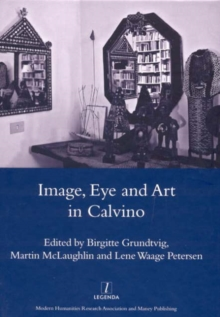Image, Eye and Art in Calvino, Hardback Book