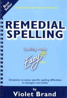 Remedial Spelling, Paperback / softback Book